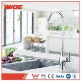 Grifo sano de vida del agua potable del cromo del golpecito de la cocina de Jiangmen 304 para la venta