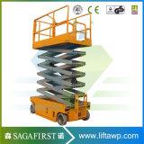 10m 14m het Zelf Gedreven Platform van de Lift van de Schaar Driveable