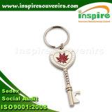 Keychain operato con il marchio personalizzato, ricordo in lega di zinco Keychain