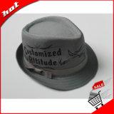 Chapéu unisex da palha do papel do chapéu do Fedora de Panamá