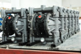 Rd 50 gran afluencia de brida PP funcionaba la bomba de diafragma doble