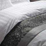 2018 Venta caliente 100% algodón banda de 3 cm Hotel equipado hoja Establece