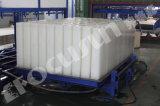 Высокая машина завода делать льда блока выхода, создатель льда