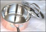 Materiale composito della vaschetta di rame della salsa delle 3 pieghe