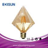 Lampadina lunga economizzatrice d'energia del filamento LED di G80 Dimmable