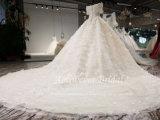 A Esfera Aolanes Beca ilusão de manga com vestido de noiva111317
