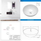 Dispersore di ceramica rotondo della lavata della mano della stanza da bagno con la certificazione di Cupc (SN129-523-20)