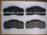 트럭은 Meritor Volvo를 위한 디스크 브레이크 패드 Wva 29125/D1560-8771를 분해한다