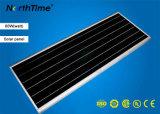 Réverbère solaire intelligent à énergie solaire de contrôle de temps d'éclairages LED