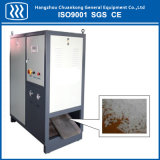 Bloco de gelo seco industrial que faz a máquina