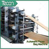 Haut débit Brown Paper Karft Paper Bag automatique sur les machines