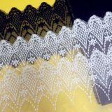 Fresagem de bordar rendas 9.5cm de acessórios de vestuário