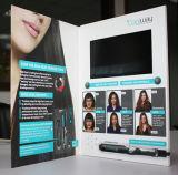 2017 vídeo de pantalla LCD de alta calidad de la Tarjeta de saludo