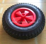 Rodas de borracha pneumático do veículo 13'' para a ferramenta bolsa com carrinho