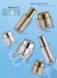 アクリルのクリーム色の瓶(KLC-05)