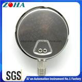 Indicateur de pression industriel Shakeproof avec du matériau d'acier inoxydable