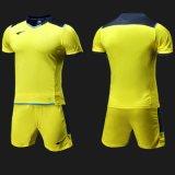 男子サッカーのジャージーのフットボールのトレーニングSportsuit Quick-Dry連続したSportwearをカスタマイズしなさい