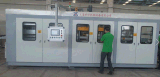 Zs-6171 enrarecen la máquina automática de Thermoforming del calibrador