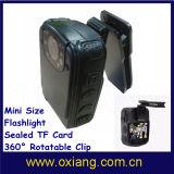 Polícia HD DVR Portátil Gravador de aplicação da lei da Câmara Câmara com TF Card incorporados