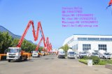 21m의 트럭 거치된 구체적인 붐 펌프 25m 27m 29m 30m 33m 36m 38m