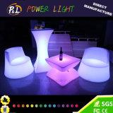 Tavolino da salotto illuminato LED variopinto