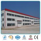 Longue construction préfabriquée d'entrepôt de structure métallique d'envergure