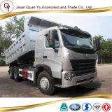 덤프 트럭 HOWO A7 덤프 트럭 판매 6X4를 위한 사용된 덤프 트럭