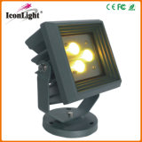 Venda a quente pequenas 3*3W Refletor LED piscina IP65