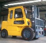 5000kg 5 tonelada 5t carretilla elevadora diesel de 5 toneladas con el motor de Mitsubishi