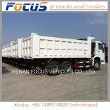 Camion delle rotelle del ribaltatore 6X4 10 dell'autocarro con cassone ribaltabile della Cina HOWO cino