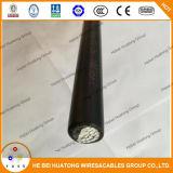 Cable aislado XLPE de aluminio Xhhw-2 del conductor del certificado 4/0 de la UL
