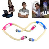 Student Study Reading Set Neck를 위한 최신 Sale Flexible Adjustable 4 Modes LED Book Neck Hug Light Night Lamp