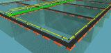 HDPE Rohr und erstklassiges Papier für Aquakultur-Fischzucht-Rahmen