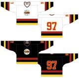 Liga de Hóquei de Ontário personalizados Guelph Platers 1982-1989 Home e camisolas de hóquei no gelo de Estrada