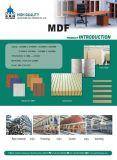 Ruwe die /Plain MDF voor Meubilair wordt gebruikt