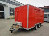 Carro móvel do alimento do reboque do alimento do preço de fábrica que cozinha o reboque