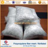 Béton additif PP Fibre Mesh pour renforcement de béton