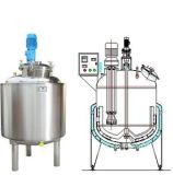 Serbatoio liquido dell'acciaio inossidabile per industria di chimica di industria alimentare