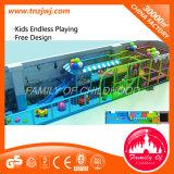 Гуанчжоу дети Naughty Форт крытый детская площадка для продажи оборудования