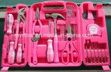 инструментальный ящик домочадца повелительниц 149PCS розовый (FY149B)