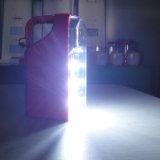 라디오를 가진 휴대용 태양 재충전용 LED 야영 손전등 빛