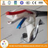 Thhn/Thwn-2, PVC/nylon, vert isolé du sol, 600 V, câble de cuivre Mc