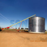 Silo do arroz do conjunto