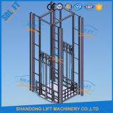 Warehouse Cargo Rail de guidage de plate-forme élévatrice hydraulique