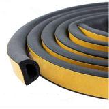 Grosser d-Typ selbstklebende Schaumgummi-Gummistreifen-Dichtungen für Sicherheits-Türen
