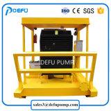 A pasta fluida de Mineração Horizontal de alta pressão bomba centrífuga de cinzas com motor diesel