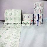 En rouleau de papier aluminium pour Bzk Lingettes de désinfection, de papier aluminium métallisé
