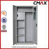 Armário de metal com espelho e cofre interno Armário de arquivo de 2 portas de aço Cmax-FC02-009
