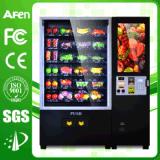강선전도 또는 나선 분배기를 가진 세륨에 의하여 승인되는 엘리베이터 또는 상승에 의하여 냉장되는 Snack&Drink 자동 판매기