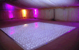 Impermeable al aire libre LED iluminado por las estrellas de Baile de boda